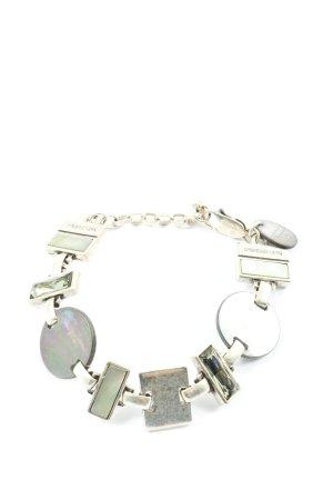Dyrberg/Kern Bracelet en argent argenté style décontracté
