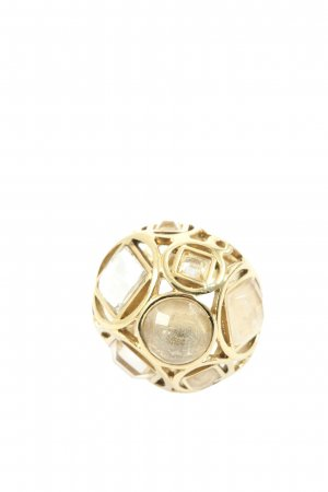 Dyrberg/Kern Statement Ring gold-colored elegant