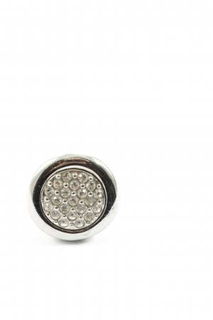 Dyrberg/Kern Statement ring zilver casual uitstraling