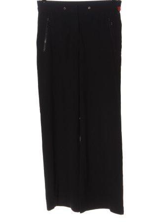 E.B. Company Pantalon en jersey noir style décontracté