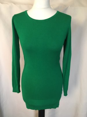 Long Sweater forest green