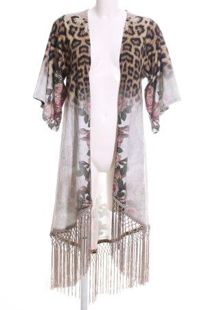 E.Mallas Kimono bloemenprint extravagante stijl