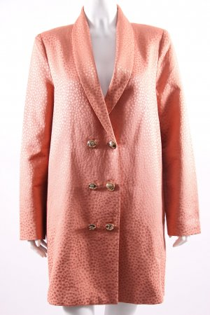 tba Frock Coat salmon cotton