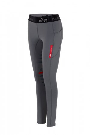 ea.St Riding Wear Reitleggings grau, Gr. L