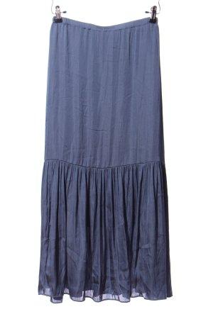 EAC Falda larga azul look casual
