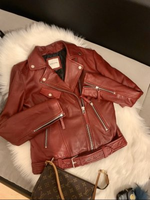 Each & Other Biker Jacket red