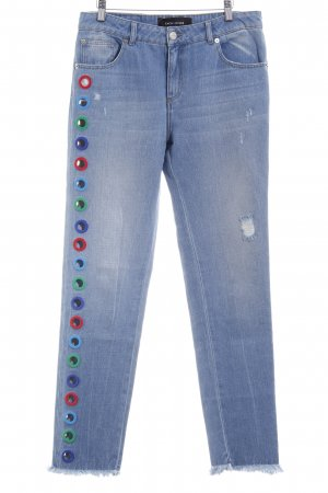 Each & Other Straight-Leg Jeans himmelblau Casual-Look
