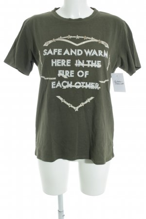 "Each & Other T-Shirt ""Robert Montgomery"" khaki"