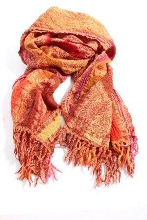 Eagle Products Bufanda de lana rojo-naranja claro look casual