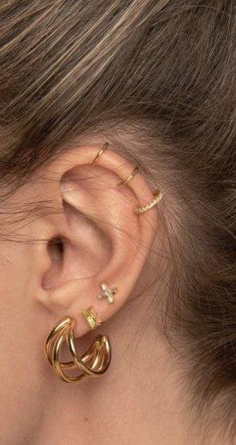 Ear cuff vergoldet