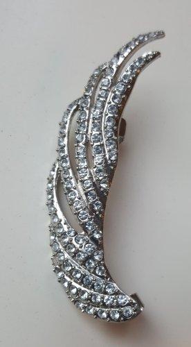 Statement oorbellen zilver
