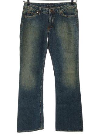 Earl Jean Jeansy o kroju boot cut niebieski W stylu casual
