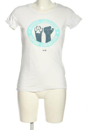 earth positive Print-Shirt Motivdruck Casual-Look