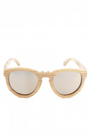 Earth Sunglasses ovale Sonnenbrille braun Casual-Look