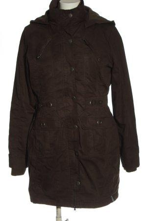 East Vintage Double Jacket brown casual look