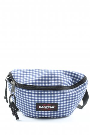 Eastpak Bumbag blue-white check pattern casual look
