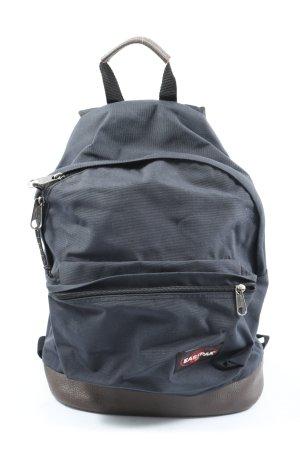 Eastpak Mochila escolar azul-negro estampado temático look casual