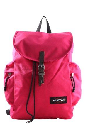 Eastpak Mochila escolar rosa-negro look casual