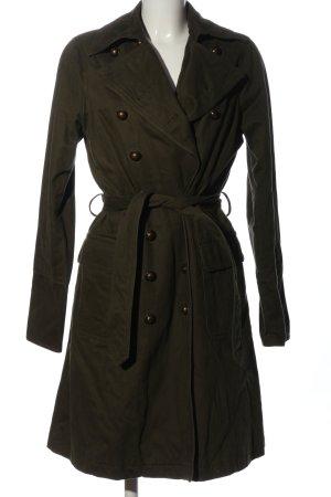 Easy Comfort Cappotto lungo fino a terra marrone stile casual