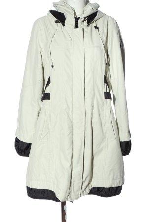 Easy Comfort Giacca con cappuccio bianco sporco-nero stile casual