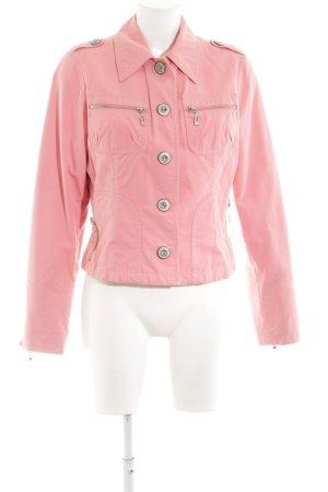 Easy Comfort Kurzjacke pink Casual-Look