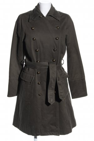 Easy Comfort Pea Coat khaki business style