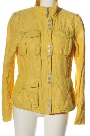 Easy Comfort Giacca mezza stagione giallo pallido-argento stile casual