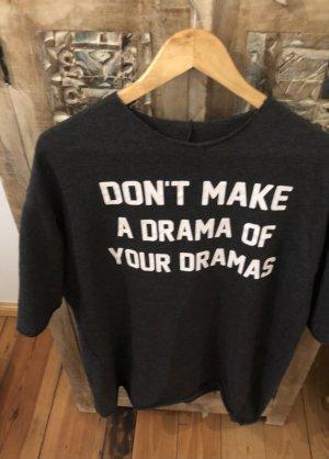 Easy Going Dress. Zara. Cooles Sweatshirt T-Shirt Kleid. Oversized Look.