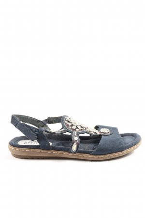 easy street Comfort Sandals blue casual look