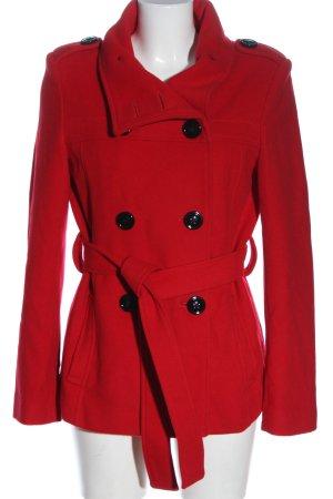 EASYCOMFORT Wełniany sweter czerwony W stylu casual