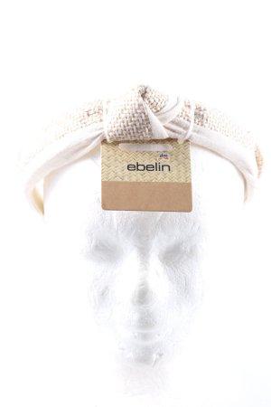 Ebelin Diadeem wolwit-wit volledige print casual uitstraling