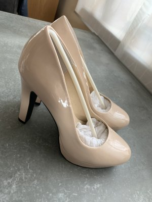 Even & Odd Platform Pumps nude