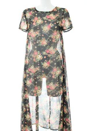 Ebony & Ivory Midikleid Blumenmuster Elegant