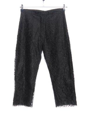 Ecco Pantalon 3/4 noir élégant