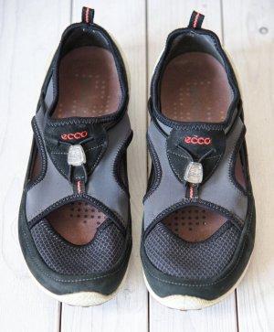Ecco Outdoor sandalen zwart-grijs