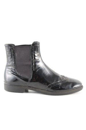 Ecco Chelsea Boots schwarz Business-Look