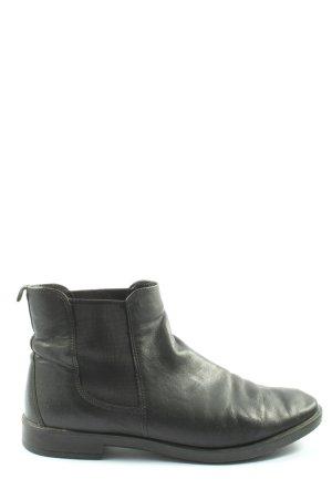 Ecco Chelsea laarzen zwart casual uitstraling