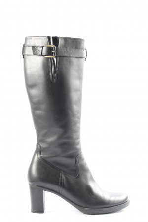 Ecco High Heel Boots black business style