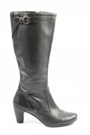 Ecco High Heel Stiefel schwarz Casual-Look