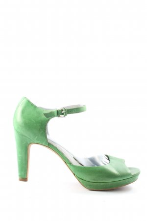 Ecco High Heels grün Casual-Look