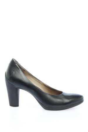 Ecco High Heels schwarz Business-Look