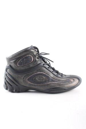 Ecco High Top Sneaker schwarz schlichter Stil