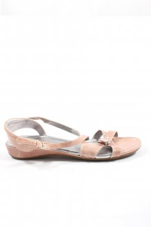 Ecco Komfort-Sandalen nude Casual-Look