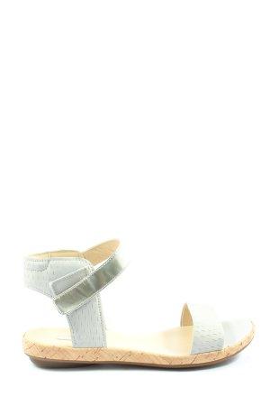 Ecco Sandales confort blanc style décontracté