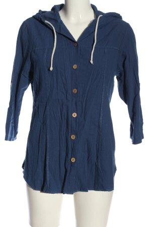 Ecco Chemise à manches courtes bleu style décontracté