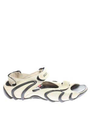 Ecco Outdoor-Sandalen weiß-schwarz Casual-Look