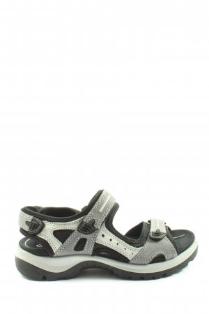Ecco Sandalias para uso en exteriores gris claro look casual