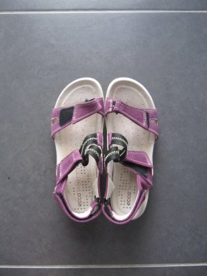 Ecco Sandale, lila, Größe 39