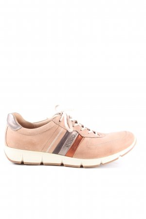 Ecco Lace Shoes brown casual look