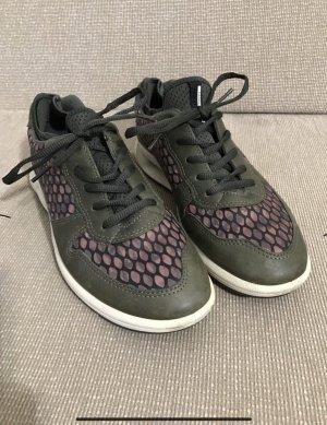 Ecco Schuhe Halbschuhe Sneaker Leder 41